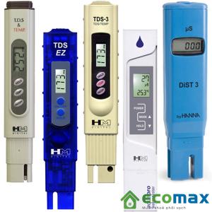 Các loại bút đo TDS do Ecomax phân phối