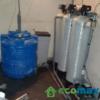 Bộ máy lọc nước giếng khoan màu vàng, mùi tanh hiệu quả ecomax