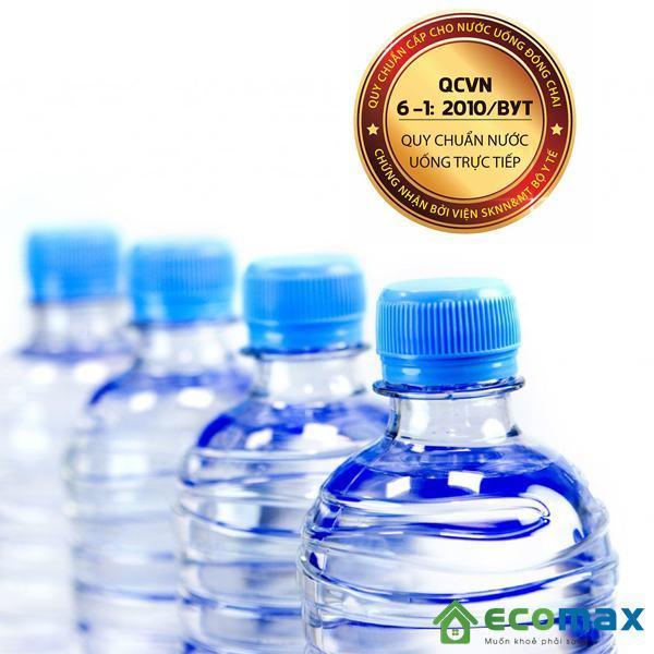 qcvn 6-1:2010/byt về tiêu chuẩn nước uống trực tiếp