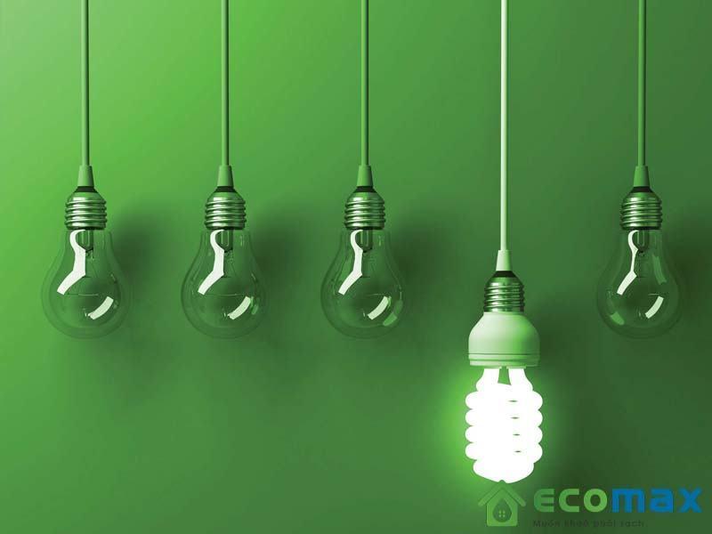 Chọn đèn tiết kiệm điện là một trong các phương pháp tiết kiệm điện rất hiệu quả