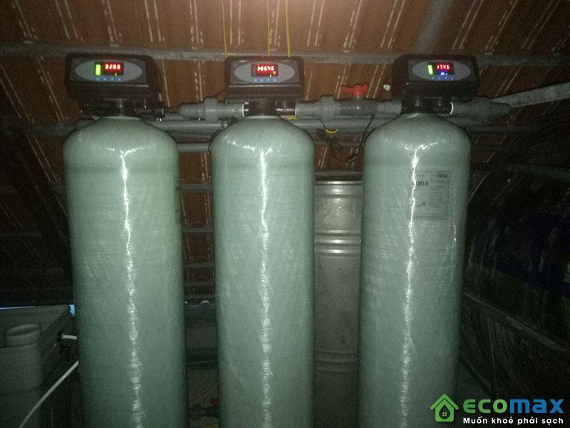 Hệ thống lọc nước giếng khoan tự động