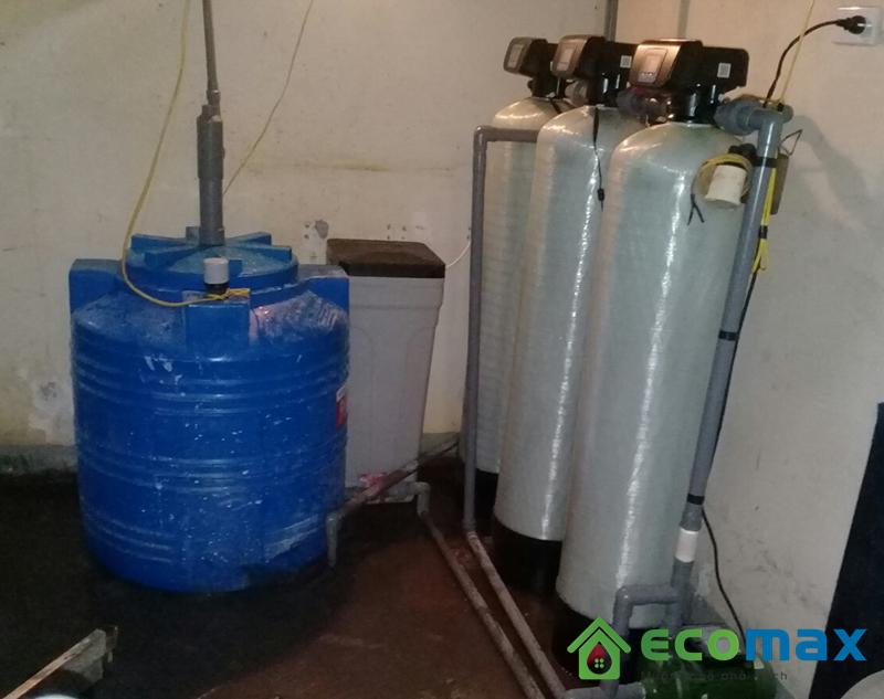 Thiết bị xử lý nước giếng khoan gia đình-ECO-03A
