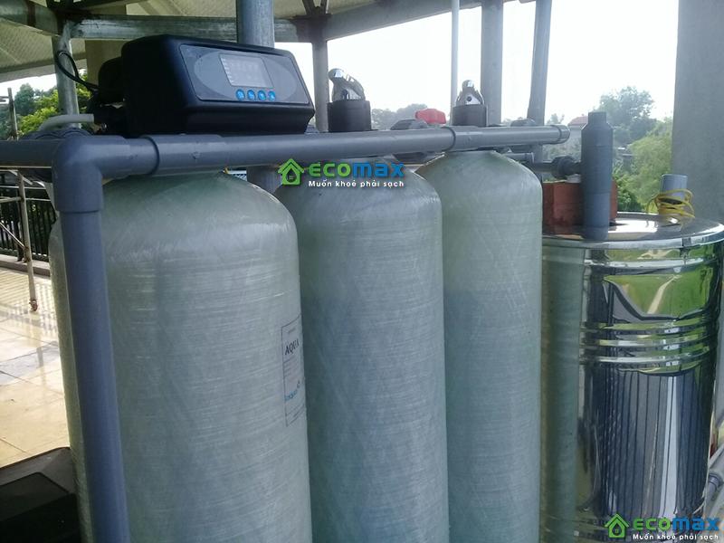 Hệ thống lọc nước giếng khoan sinh hoạt