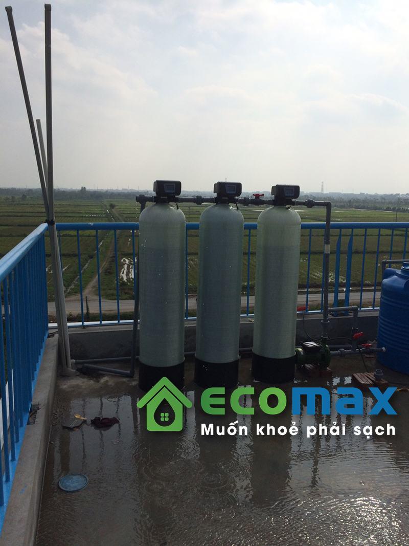 Công trình lắp đặt hệ thống lọc nước giếng khoan tại Bình Đà