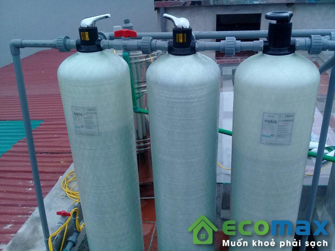 Lắp đặt hệ thống lọc nước giếng khoan tại Xuân Canh