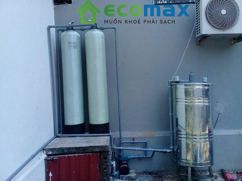 Hệ thống lọc nước giếng khoan nhiễm sắt asen, mangan, lọc trong, khử mùi