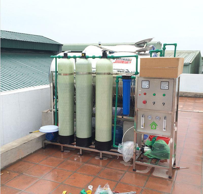 Báo giá dây chuyền lọc nước 250-300lít