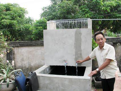 Bể lọc nước giếng khoan