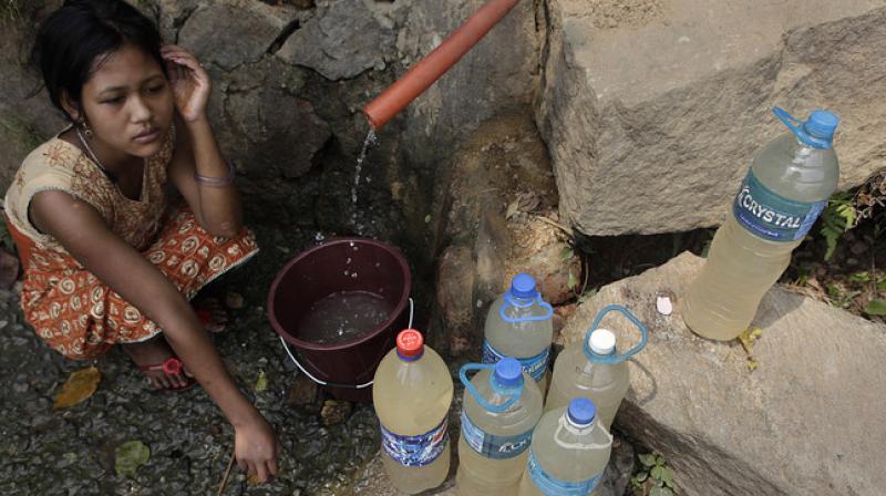 Nước sinh hoạt nhiễm bẩn