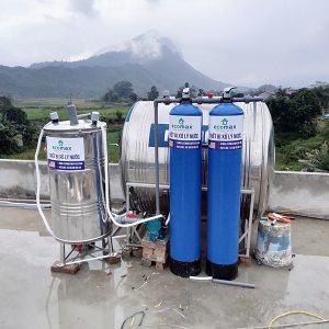 Lọc nước giếng khoan tại Hà Giang