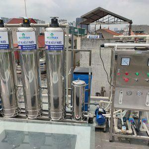 Dây chuyền lọc nước tinh khiết 750 lít